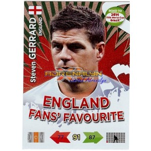 Steven Gerrard FANS FAVOURITE UK