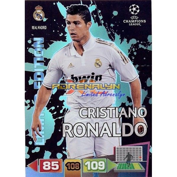 Cristiano Ronaldo Limited Edition Adrenalyn Xl Page 6