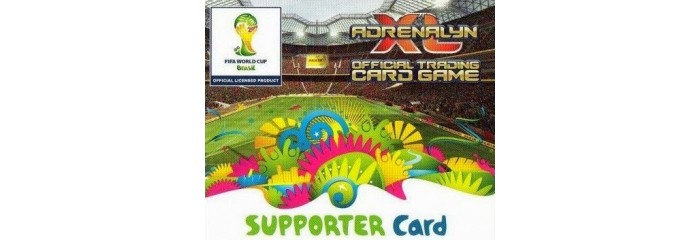 ADRENALYN XL Supporter Card